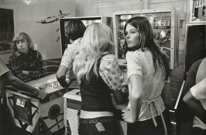 relleno Pinballs in the 1970s (Photo by Charles Harbutt)